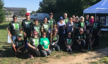 All the volunteers who made TD Tree Days possible
